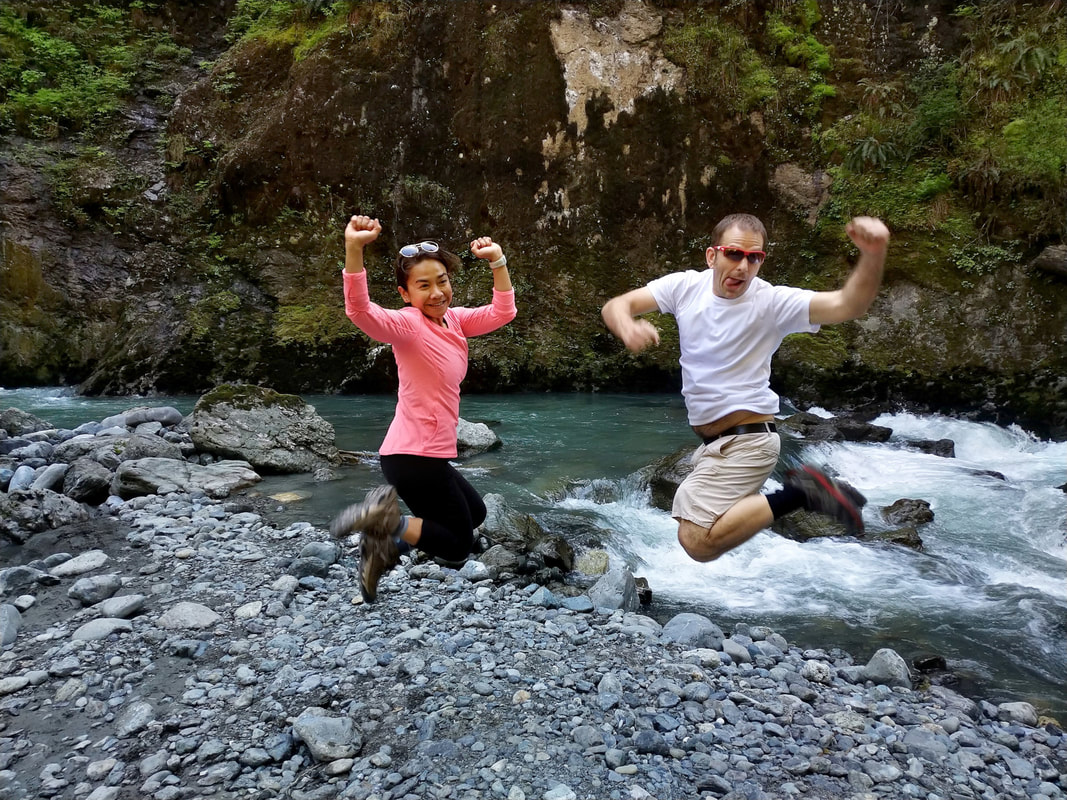 joy at boulder river